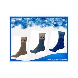 Купить Подарочный набор из 5 пар термоносков для мальчика ТМ AVI-outdoor
