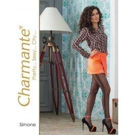 Колготки Charmante SIMONE женские с рисунком