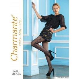 Колготки Charmante LOTTA 20 женские с рисунком