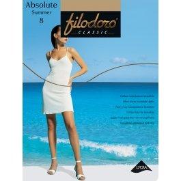 Распродажа колготки женские ультра-тонкие Filodoro Absolute Summer 8 den