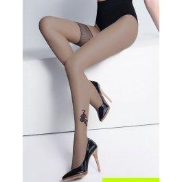 Колготки Giulia TWIN TIGER женские с рисунком