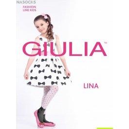 Колготки Giulia LINA 01 для девочек с рисунком
