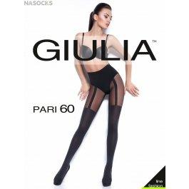 Колготки Giulia PARI 18 с имитацией чулок