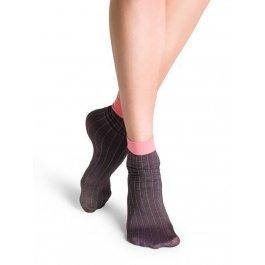 Носки Happy Socks AS11-002 укороченные с контрастной резинкой