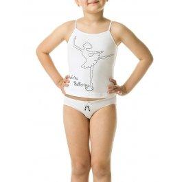 Купить Комплект (майка+трусы) для девочек Charmante SGTP 200819 с принтом