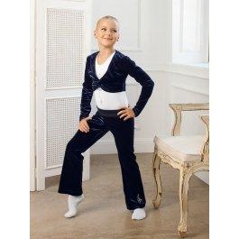 Купить Болеро для девочек Charmante SGC 201245 велюровое