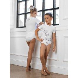 Комплект для девочек (футболка, трусы) Charmante SGFP 201250 с принтом
