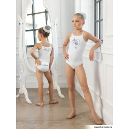 Комплект для девочек (майка-топ, трусы) Charmante SGTP 201251 с принтом