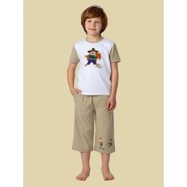 Купить Комплект для мальчиков (футболка и брюки) Charmante BXP 461310 с принтом