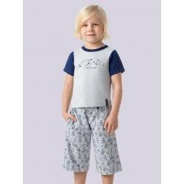 Комплект для мальчиков (футболка + брюки) Charmante BXP 371319 с принтом