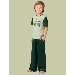 Купить Комплект для мальчиков (футболка и брюки) Charmante BXP 401311 с принтом