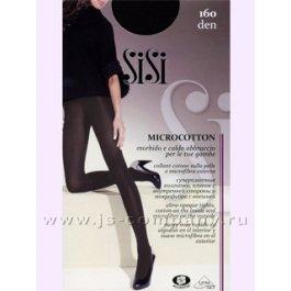 Колготки женские теплые, парфюмированные Sisi Microcotton 160 den