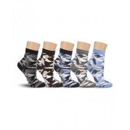 Носки Lorenz Л90 для мальчиков камуфляжные
