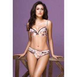 Купить Комплект нижнего белья (бюст+трусики) Dimanche lingerie Retro 1285/3285 с принтом женский