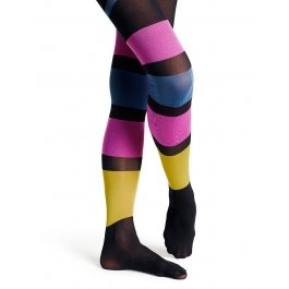 Купить Колготки Happy Socks TN11-008 50 den в полоску женские