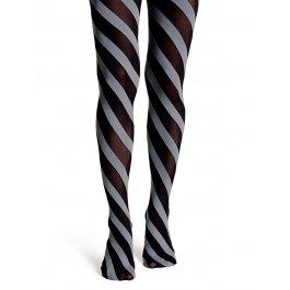 Колготки Happy Socks TN11-009 50 den в полоску женские