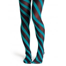 Купить Колготки Happy Socks TN11-010 50 den в полоску женские