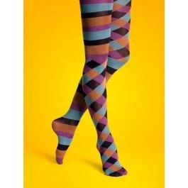 Купить Колготки Happy Socks TN11-013 50 den в полоску женские