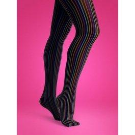 Купить Колготки Happy Socks TN11-015 50 den в полоску женские