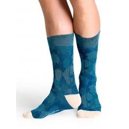 Носки Happy Socks CA11-001 с контрастными зонами