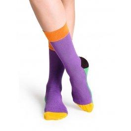 Носки Happy Socks FI11-002 с контрастными зонами