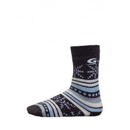 Распродажа носки детские средние, из шерсти мериносов Guahoo 55-0703-AL