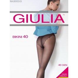 Колготки женские полупрозрачные, матовые Giulia Bikini 40 den