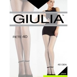 Колготки женские сетчатые, тонкие Giulia Rete 40 den