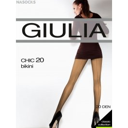 Колготки женские с элегантной стрелкой Giulia CHIC 20 den
