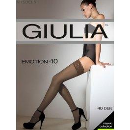 Чулки женские полуматовые Giulia Emotion 40 den