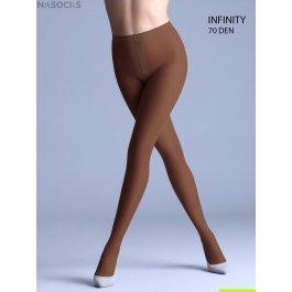 Колготки женские плотные полупрозрачные Giulia Infinity 70 den
