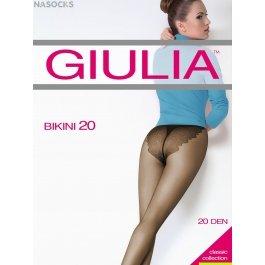 Колготки женские с ажурными трусиками-бикини Giulia Bikini 20 den