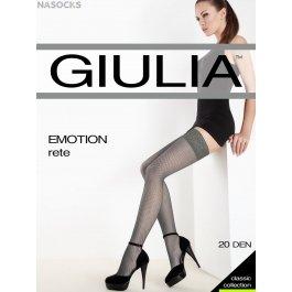 Чулки женские в сеточку Giulia Emotion Rete 20 den
