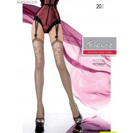 Распродажа чулки Fiore Festiva 20 den женские, под пояс, с рисунком