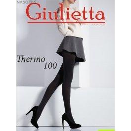 Колготки женские из плотной микрофибры 3D Giulietta Thermo 100 den
