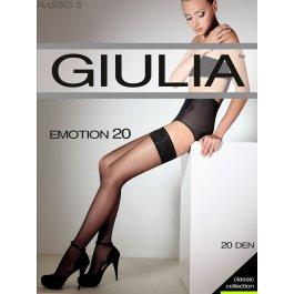 Чулки женские полуматовые Giulia Emotion 20 den
