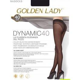 Колготки женские полупрозрачные, с лайкрой Golden Lady Dinamic 40 den