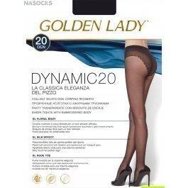 Колготки женские матовые, с лайкрой Golden Lady Dinamic 20 den