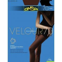 Колготки женские велюровые, из микрофибры OMSA Velour 70 den XL