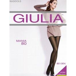 Колготки женские теплые, из микрофибры Giulia Mania 80 den