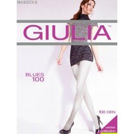 Колготки женские теплые, из микрофибры Giulia Blues 100 den