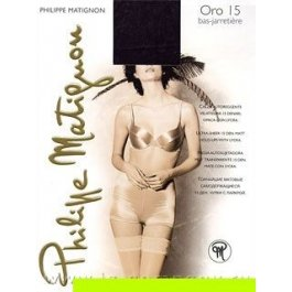 Чулки женские Philippe Matignon Oro 15 bas-jarretiere