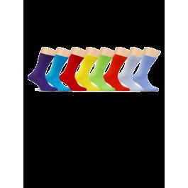 Купить Носки мужские «Разноцветная дюжина» 12 пар носков разного цвета в кейсе