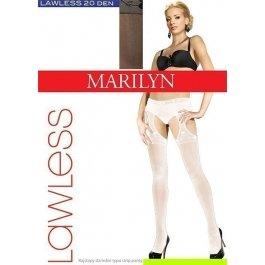 Колготки женские с вырезом и имитацией чулок Marilyn Lawless Sexy 20 den