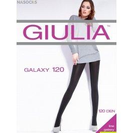 Колготки женские из микрофибры, с блеском Giulia Galaxy 120 den
