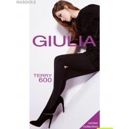 Колготки женские очень теплые, из мягкого хлопка Giulia Terry 600 den