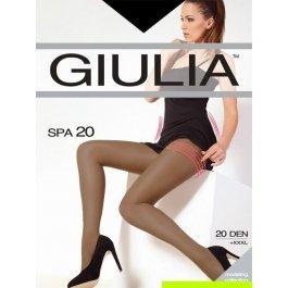 Колготки женские полупрозрачные, корректирующие Giulia Spa 20 den XL