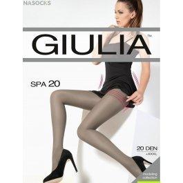 Колготки женские полупрозрачные, корректирующие Giulia Spa 20 den