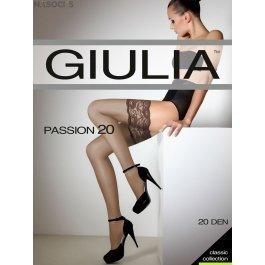 Чулки женские тонкие, матовые Giulia Passion 20 den