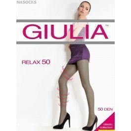 Колготки женские лечебные, с распределенным давлением Giulia Relax 50 den